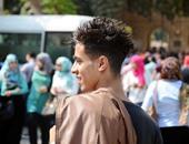 """بالصور.. إطلالات رائعة لشباب الجامعة بتصفيفات شعر """"مطرقعة"""""""