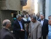 """وزير الشباب يزور منزل الزعيم عبد الناصر بقرية """"بنى مر"""""""