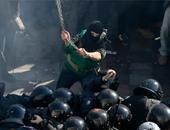إصابة 3 أشخاص فى اشتباكات بين متظاهرين وقوات الأمن بأوكرانيا