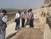 آثار المنيا: مقابر فريزر تأثرت بالرطوبة وتحتاج لترميم وصيانة سريعة