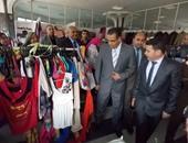 افتتاح السوق الخيرى ومهرجان الأنشطة الطلابية بجامعة المنصورة