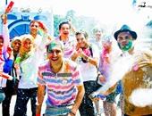 Miracles Team ينظم مهرجان الألوان بحديقة الميريلاند فى مصر الجديدة