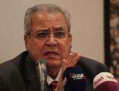 نائب رئيس الوزراء الفلسطينى يلتقى جابر عصفور لتعزيز التعاون الثقافى