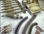 الداخلية تداهم بؤر اجرامية وتضبط 3 قنابل و85 قطعة سلاح