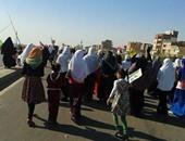 بالصور 7 مسيرات لجماعة الإخوان بكفر الشيخ