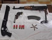 مباحث المرج تحبط مشاجرة بالأسلحة وتضبط صاحب ورشة بحوزته بنادق آلية