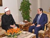 """الرئاسة:""""السيسى"""" أكد دعمه المطلق لـ""""الأوقاف"""" لاسترداد أملاكها المنهوبة"""