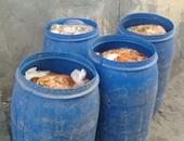 ضبط مبيدات زراعية مجهولة المصدر ومخللات فاسدة فى حملة تموينية بالغربية