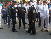 انتشار مكثف لعناصر الشرطة النسائية بالشوارع لتأمين الفتيات بالعيد
