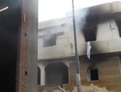 مصرع عامل فى حريق منزل بالقناطر الخيرية
