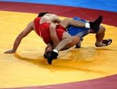 علاء الدين هاني يحقق فضية وزن 97 كيلو فى المصارعة بالألعاب الإفريقية