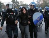 كر وفر بين الشرطة التركية والمتظاهرين فى شوارع اسطنبول