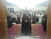 وصول البابا تواضروس دير دميانة لحضور قداس ذكرى الأربعين للأنبا بيشوى