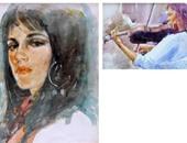 """لأول مرة معرض للأعمال الصغيرة للفنان """"عبدالعال حسن"""" بجاليرى قرطبة"""