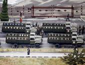 بالصور.. عرض عسكرى فى الذكرى السنوية لتأسيس الحزب الحاكم بكوريا الشمالية