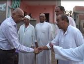 محمد غنيم يقوم بجولة فى قري بلقاس لدعم مرشح تحالف الجبهة الوطنية بالدقهلية