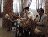 بالصور.. مدير أمن مطروح يلتقى أفراد الشرطة لحل مشاكلهم وتحفيزهم