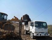 استجابة لمبادرة سيبها علينا.. حل مشكلة تراكم القمامة بقرية المنيل بالدقهلية