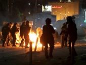 ملثمون يلقون زجاجة حارقة على مكتب رئيسة كوسوفو