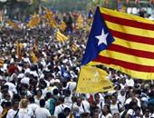 آلاف فى شوارع كاتالونيا احتجاجا على توقيفات ومداهمات فى الاقليم