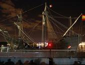 """نسخة """"طبق الأصل""""من سفينة المستكشف ماجلان ترسو بفرنسا"""