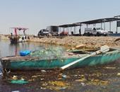 بالصور.. توقف الصيد فى بحيرة ناصر بعد تعطل مصنع الثلج إثر سرقة كابل كهرباء