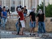 بالصور..كر وفر بين الشباب الفلسطينى وقوات الاحتلال فى بيت لحم