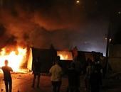 بالصور.. فلسطينيون يضرمون النيران فى قبر يوسف المقدس لدى الإسرائيلين شرق نابلس
