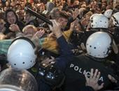 مظاهرات بجمهورية الجبل الأسود ضد استهداف الصحفيين