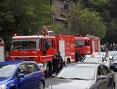 الحماية المدنية تسيطر على حريق ورشة أحذية بالدرب الأحمر دون إصابات