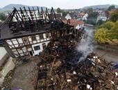 مصرع شخص وإصابة 14 آخرين فى حريق بسكن لطالبى اللجوء جنوب ألمانيا