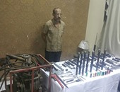 سقوط صاحب مطعم لتحويله إلى ورشة لتصنيع الأسلحة فى بولاق أبو العلا