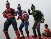 """هالك.. سبايدر مان.. كابتن أمريكا فى مهرجان """"الشخصيات الخارقة"""" بكوالالمبور"""