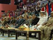 انطلاق الاحتفالات الرسمية بالعيد القومى لمحافظة السويس