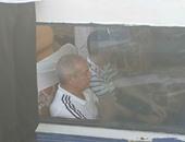 صور وصول بعثة نادى الزمالك إلى أسوان وسط استقبال بالأعلام البيضاء