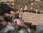 مصرع 3 في حادث انهيار حائط منزل بمركز العسيرات جنوب محافظة سوهاج