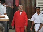 """تأجيل محاكمة """"بديع"""" و682 متهما بقضية """"أحداث العدوة"""" لـ7 فبراير المقبل"""