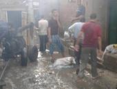 ارتفاع ضحايا السيول فى البحيرة لـ5 وإصابة 23 آخرين