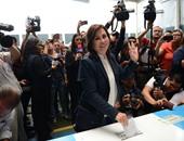 """""""ساندرا تورس """" طليقة الرئيس السابق لجواتيمالا تدلى بصوتها فى الانتخابات الرئاسية"""