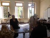 إقبال كبير لكبار السن فى التصويت على الانتخابات البرلمانية بسوهاج