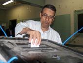 تزايد نسبى لإقبال الناخبين قبل نهاية التصويت بمدرسة التحرير فى الجيزة