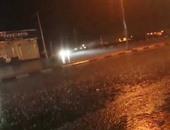 هطول أمطار غزيرة على المدينة المنورة وضواحيها