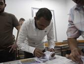 تقدم مرشح حزب النور فى لجنة 100 بدائرة العامرية غرب الإسكندرية