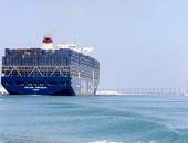 222 سفينة عبرت قناة السويس خلال 5 أيام بحمولة  13.4 مليون طن