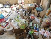 القبض على صاحب مصنع يبيع مواد غذائية مجهولة المصدر فى المرج