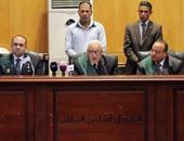 """قاضى """"سجن بورسعيد"""" يطالب الدفاع بمراجعة أسماء الضباط المطلوبين للشهادة"""