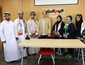 """بالصور.. وفد عمانى يزور """"اليوم السابع"""" ويتعرف على دورة العمل بالمؤسسة"""