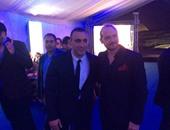 بالصور.. السقا وإيهاب طلعت ورانيا فريد شوقى وأحمد سعد فى حفل يانى