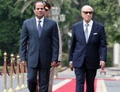 السيسى يستقبل نظيره التونسى لمناقشة قضايا المنطقة.. ومؤتمر صحفى بعد قليل