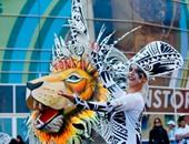 """بالصور.. الألوان والرقصات الأرجنتينة.. أهم ما يميز مهرجان كأس العالم """"للرجبى"""""""